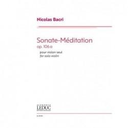 Sheet music SONATE-MÉDITATION OP.106A