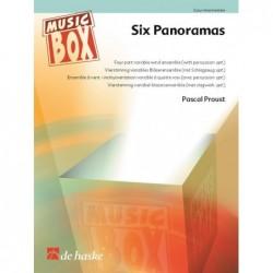 Partition SIX PANORAMAS
