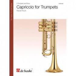 Partition CAPRICCIO FOR TRUMPETS