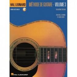 Sheet music MÉTHODE DE GUITARE - VOLUME 3