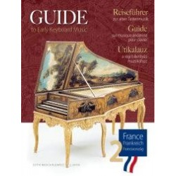 Partition GUIDE TO EARLY KEYBOARD MUSIC - FRANCE 2
