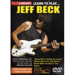 LEARN TO PLAY JEFF BECK (2 DVD)