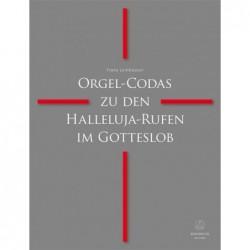 Partition ORGEL-CODAS ZU DEN HALLELUJA-RUFEN