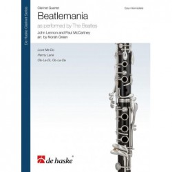 Partition BEATLEMANIA (CLARINETTES) The Beatles
