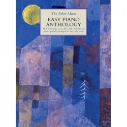 Partition THE FABER MUSIC EASY PIANO ANTHOLOGY