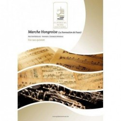 Partition MARCHE HONGROISE (SAXOPHONES) Hector Berlioz