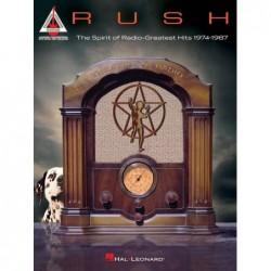 Partition RUSH - THE SPIRIT OF RADIO : GREATEST HITS 1974-1987 Rush