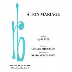 À TON MARIAGE