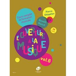 L'OUVERTURE À LA MUSIQUE - VOLUME 6 (+CD)