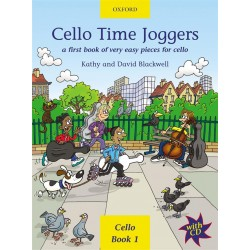 CELLO TIME JOGGERS BOOK 1 (+CD)