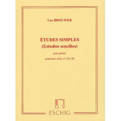 ÉTUDES SIMPLES (ESTUDIOS SENCILLOS) SÉRIE 4