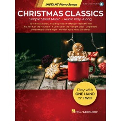 INSTANT PIANO SONGS - CHRISTMAS CLASSICS