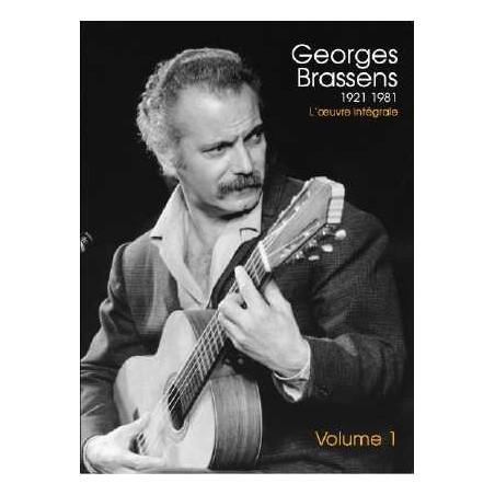 L'ŒUVRE INTÉGRALE Vol. 1 - GEORGES BRASSENS