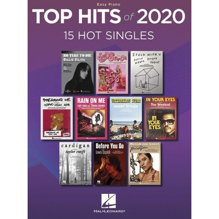 TOP HITS OF 2020 (EASY PIANO)