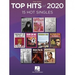 Songbook TOP HITS OF 2020 (EASY GUITAR)