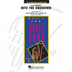 Partition INTO THE UNKNOWN (BRASS BAND) DISNEY