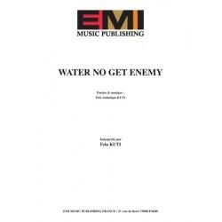 Sheet music WATER NO GET ENEMY Fela Kuti