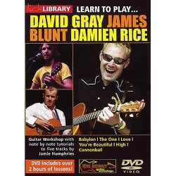 LICK LIBRARY - LEARN TO PLAY GRAY BLUNT RICE (DVD)