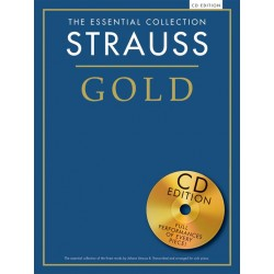 THE ESSENTIAL COLLECTION : STRAUSS GOLD (+CD)