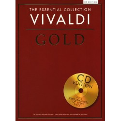 THE ESSENTIAL COLLECTION : VIVALDI GOLD (+CD)
