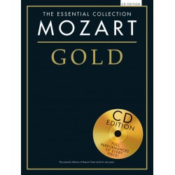 THE ESSENTIAL COLLECTION : MOZART GOLD (+CD)