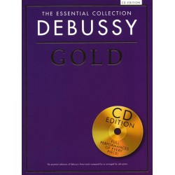 THE ESSENTIAL COLLECTION : DEBUSSY GOLD (+CD)