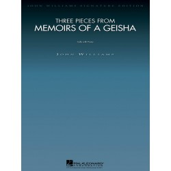 THREE PIECES FROM MEMOIRS OF A GEISHA
