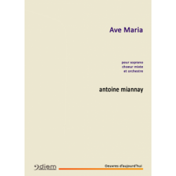 Partition AVE MARIA Antoine MIANNAY