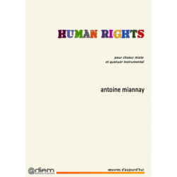 Partition HUMAN RIGHTS Antoine MIANNAY