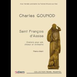 Partition SAINT FRANÇOIS D'ASSISE Charles GOUNOD