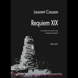 Partition REQUIEM XIX Laurent COUSON