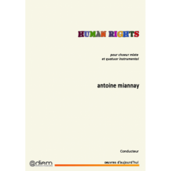 Partition HUMAN RIGHTS (CONDUCTEUR) Antoine MIANNAY