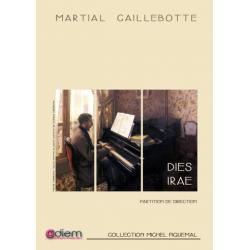 Partition DIES IRAE (CONDUCTEUR) Martial CAILLEBOTTE