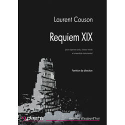 Partition REQUIEM XIX (CONDUCTEUR) Laurent COUSON