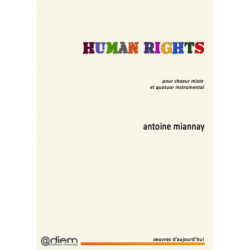 Partition HUMAN RIGHTS (MATÉRIEL) Antoine MIANNAY