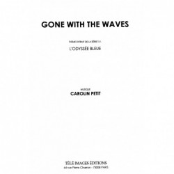 Partition GONE WITH THE WAVES Carolin PETIT