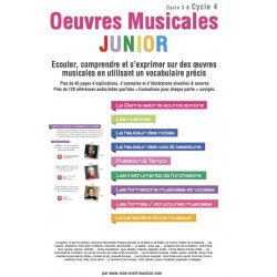 Partition œuvres musicales junior