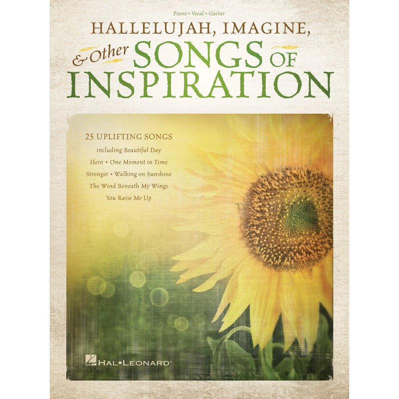 Songbook Hallelujah and Other Songs of Inspiration