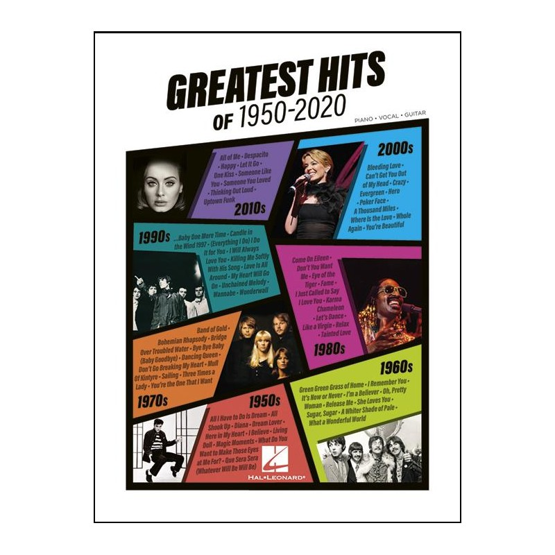 Greatest Hits of 1950-2020