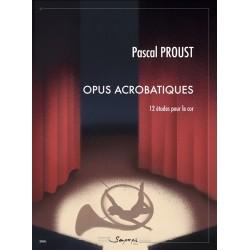 Partition Opus acrobatiques