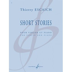 Partition SHORT STORIES Thierry ESCAICH