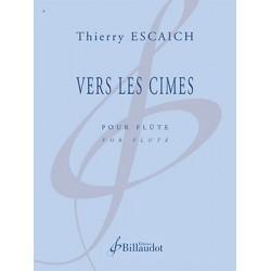 Partition VERS LES CIMES Thierry ESCAICH