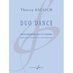 Partition DUO DANCE Thierry ESCAICH