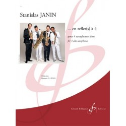 Partition ...EN REFLET(S) A 4 Stanislas JANIN