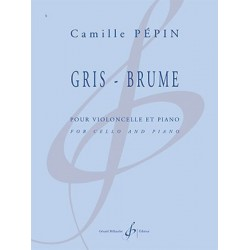Partition GRIS-BRUME Camille PEPIN