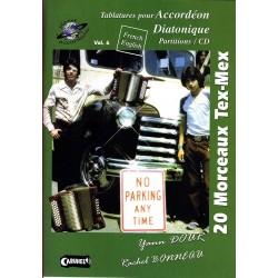 20 MORCEAUX TEX-MEX (+CD)