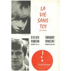 Partition LA VIE SANS TOI Sylvie VARTAN