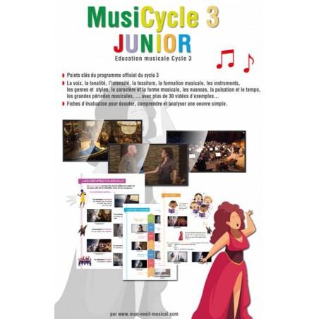 MUSICYCLE 3 JUNIOR (Éveil Musical)