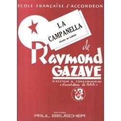 Partition LA CAMPANELLA RAYMOND GAZAVE