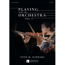 PLAYING WTH THE ORCHESTRA VOL.1 (FLÛTE)